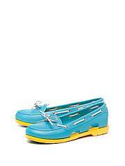 ������� Beach Line Boat Shoe W CROCS